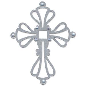 Template - Ornate Cross 2 Baptism Cross Template