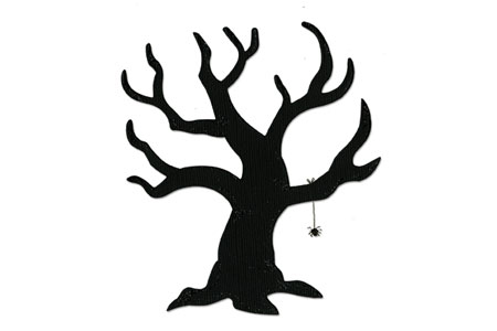 spooky tree template