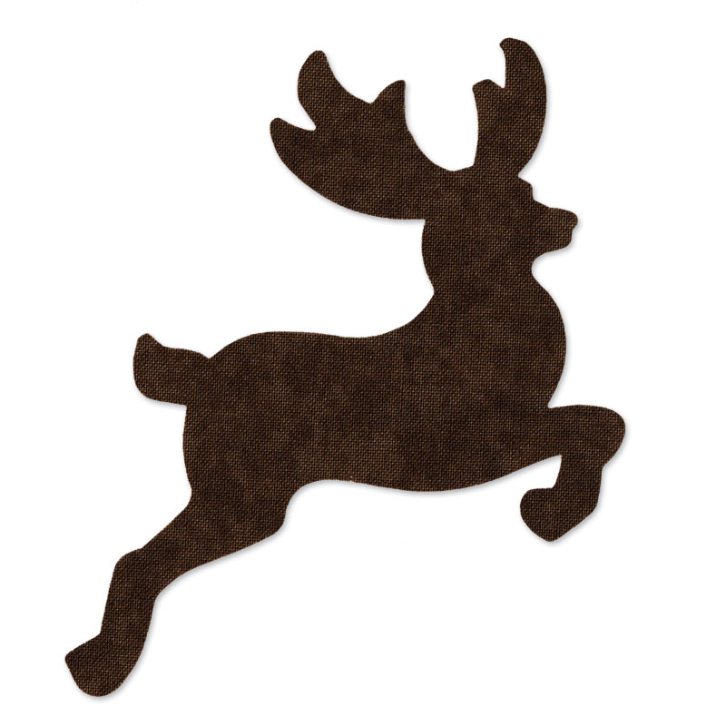 Sizzix - Originals Die - Christmas - Quilting - Reindeer 2