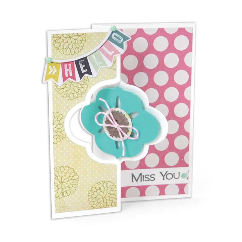 cards made with sizzix